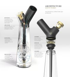 Aura Water Pipe