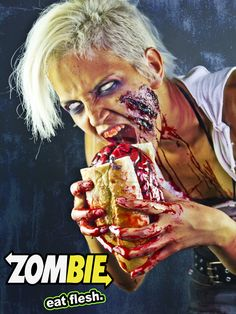 Zombie Subway. This is disgusting and hilarious!