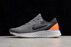 Cheapest Womens Nike Odyssey React Gunsmoke Black Twilight Pulse Running Shoes  AO9820-004 ce8ef06daf
