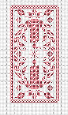 this pin was discovered by Filet Crochet Charts, Crochet Cross, Thread Crochet, Crochet Motif, Crochet Tablecloth Pattern, Crochet Curtains, Christmas Crochet Patterns, Holiday Crochet, Cross Stitching