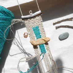 Driftwood Necklace - work in progress