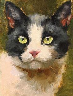 "Daily Paintworks - ""Adopt246_oil"" - Original Fine Art for Sale - © Katya Minkina"