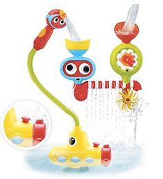Kids Bath Toy Tub Octopus Rotating Jellyfish Toys Bath Play Set Plastic Bath Toys Water Flow Waterfall Shower Toy Gift Factory Direct Selling Price Classic Toys