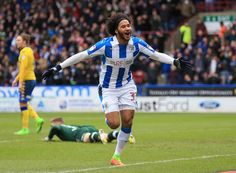 Town 2 Leeds 1 Izzy Brown scores against Leeds Huddersfield Town, Leeds, Terriers, Scores, Pure Products, Running, Brown, Style, Racing