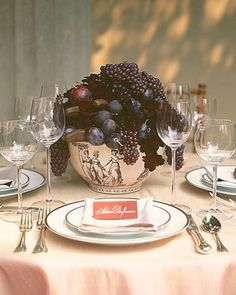 "See the ""Classic Centerpiece"" in our Wedding Centerpieces with Fruit and Vegetable Elements gallery"