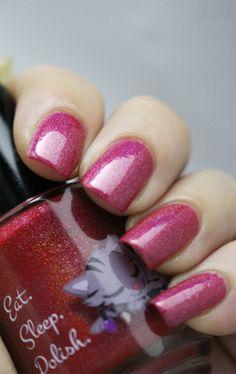 Raspberry Gummy Bear | Hand Blended, Vegan, Cruelty Free Nail Polish | Eat.Sleep.Polish.