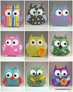 Owl paper cards