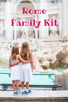 The first self-guided tours package for Rome with kids I Rome Activity book for kids I Rome guidebook for parents I Art and Play Accessories for Rome family adventrue