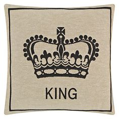 King Crown Wallpaper King Crown Cushion