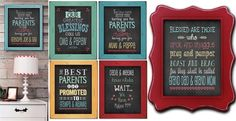 Personalized Grandparent Gift Prints - Mom's Day Special!
