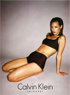 Christy Turlington Calvin Klein Swimwear 1997