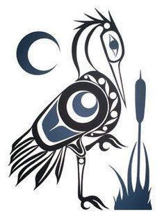 crane totem (Daru: önállóság és függetlenség.)