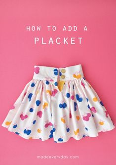 Sewing Clothes Kids Dress Skirt Tutorial New Ideas Little Girl Skirts, Skirts For Kids, Dresses Kids Girl, Kids Outfits, Toddler Outfits, Vetements Clothing, Baby Skirt, Baby Dress, Baby Girl Fashion