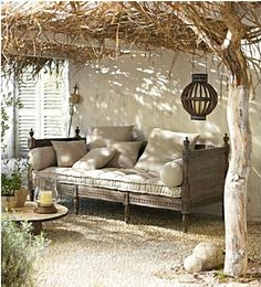 Cozy spot in the shade