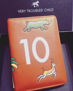 #wesanderson #darjeelinglimited #passport holder #leather #animal #print #verytroubledchild #design #fashion