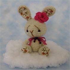 Crocheted Bunny, so sweet