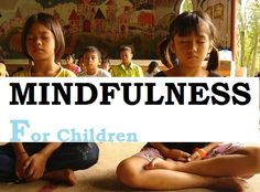 Mindfulness Meditation Exercises for Children FREE
