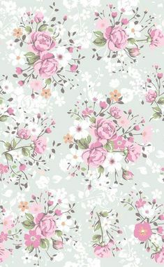 Wallpaper flowers vintage floral patterns pink roses 68 Ideas for 2019 Decoupage Vintage, Decoupage Paper, Vintage Paper, Vintage Roses, Vintage Floral, Phone Wallpaper Pink, Flower Wallpaper, Pattern Wallpaper, Spring Wallpaper