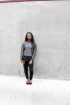 Latest on the blog!   #streetstyle #monochrome #style #fashion #ootd - Check it out: http://www.glamhive.com/look/55817b3ee4b0e53c49d3f2e6