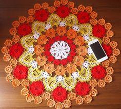 Luxury handmade crochet doily in Hand Crocheted Doilies | eBay