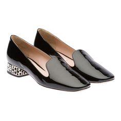 Miu Miu e-store · Shoes · Slippers · Slippers 5S9744_069_F0002_F_025