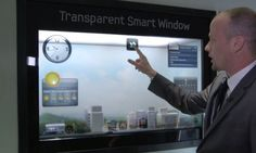 Smart transparent Window presented at CES