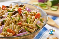 Greek Pasta Salad   1 Guiding Star