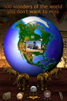 GeoWalk - ($2.99) - Explore the globe through images and articles.