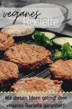 Bist du noch auf der Suche nach Ideen für dein veganes Raclette? Dann bist du hier genau richtig, neben Fleisch- und Käsealternativen zeige ich dir noch viele weitere Inspirationen.