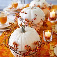 Pumpkin Centerpiece #fallcenterpiece