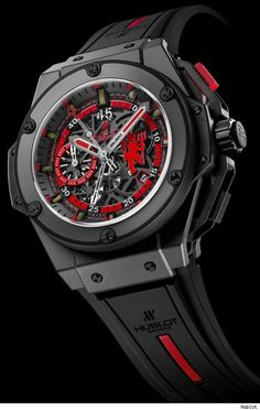830921ffb66 Hublot King Power Red Devil Watch For Manchester United - Who says u cant  buy time - gents watches