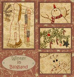 Ellie's Quiltplace: Winter In Blogland - Blok 8