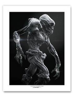 Alien Pilot Print