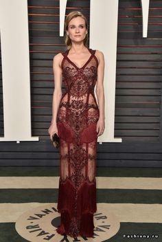Диана Крюгер в платье из новой коллекции Reem Acra