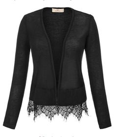 Cropped fit cardigan with ribbed streamline