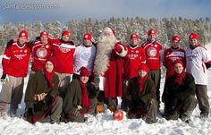L'équipe de football du Père Noël à Rovaniemi : FC Santa Claus