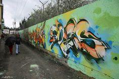 graffiti por does