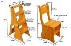 Diy Furniture Plans Wood Projects - New ideas Diy Furniture Plans Wood Projects, Handmade Wood Furniture, Folding Furniture, Space Saving Furniture, Woodworking Projects Diy, Home Decor Furniture, Cool Furniture, Furniture Design, Woodworking Plans