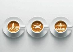 We Heart It 経由の画像 #airplane #airport #amazing #caffeine #city #coffee #cool #creative #cups #drink #latte #milk #people #pictures #plane #pretty #travel #white