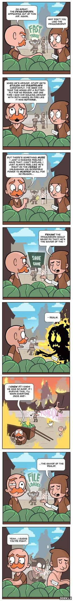 this is a nice #comic strip Skyrim: Deja Vu i like the ending so funny #lol #hovacone @retweets_fast @Dare_RT @ReTweetQueen86 @Quickest_Rts @YTRetweets @YTShoutouts https://www.youtube.com/user/hovacones?Sub_confirmation=1