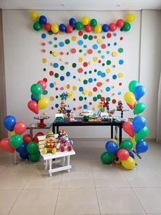 Decora o de festa neon id ias para os 15 anos de kl o - Decoracion marinera barata ...