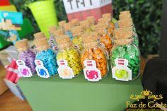 vidrinhos-poção-minecraft Party Favors For Kids Birthday, Birthday Wishes For Myself, Kids Party Themes, Diy Party Decorations, Birthday Parties, Party Ideas, Minecraft Party, Lego Minecraft, Diy Souvenirs