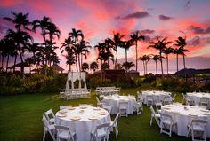 Anuenue Lawn - Wedding. Superpin Sheraton