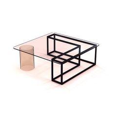 #NEED #table by @johnthogan & @iacoli_mcallister #design #decor #furniture #furnituredesign #square #cube #minimal #minimalism #minimalarchy  #want #love