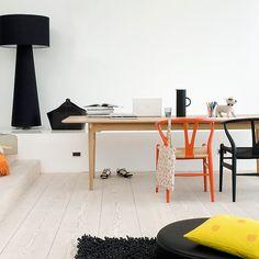 Hans Wegner CH24 Wishbone Chair from Carl Hansen & Son via @smartfurniture