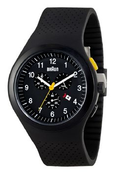 Braun Sport Watch 115 Chronographer Black