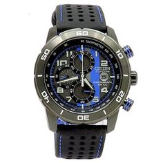 Citizen Eco-Drive Men's Primo Chronograph Watch