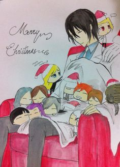 Noblesse Christmas 2013 by Rona67 on DeviantArt (TOO CUTE)
