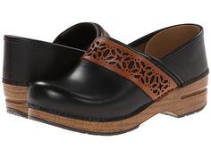 Dansko Pavan Black Full Grain - Zappos.com Free Shipping BOTH Ways
