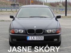 BMW 525 Diesel - JASNE SKÓRY - CZARNY METALIK - !!